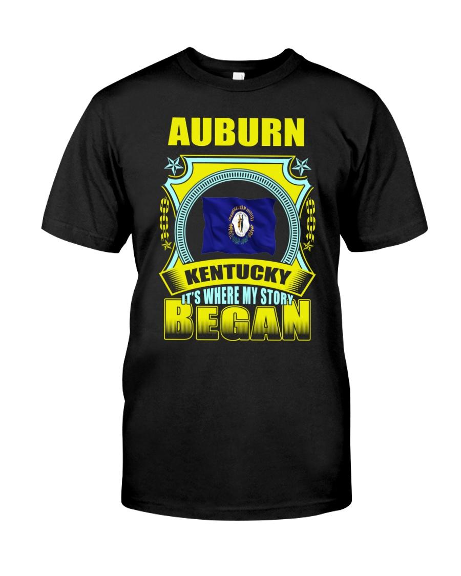 My story began in Auburn-KY TShirt Classic T-Shirt