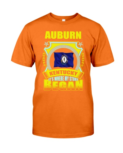 My story began in Auburn-KY TShirt