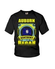 My story began in Auburn-KY TShirt Youth T-Shirt thumbnail