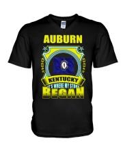 My story began in Auburn-KY TShirt V-Neck T-Shirt thumbnail