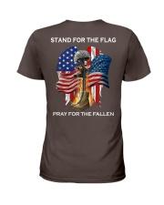 PRAY FOR THE FALLEN Ladies T-Shirt thumbnail