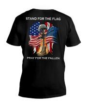 PRAY FOR THE FALLEN V-Neck T-Shirt thumbnail