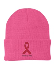 Power of Pink Knit Beanie front