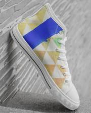 BLUE SLIDE PARK Men's High Top White Shoes aos-complex-men-white-high-top-shoes-lifestyle-inside-right-22