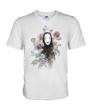 noface V-Neck T-Shirt thumbnail