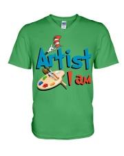 Artist i am V-Neck T-Shirt thumbnail