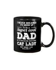 Cat Lady's Dad Mug thumbnail