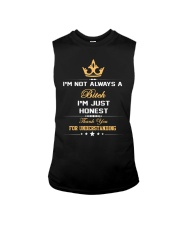 I'M NOT ALWAYS A BITCH I'M JUST HONEST THANK YOU Sleeveless Tee thumbnail
