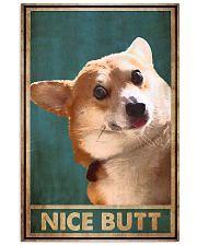 NICE BUTT CORGI 24x36 Poster front