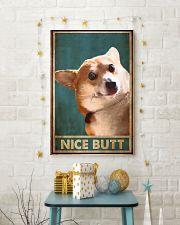 NICE BUTT CORGI 24x36 Poster lifestyle-holiday-poster-3