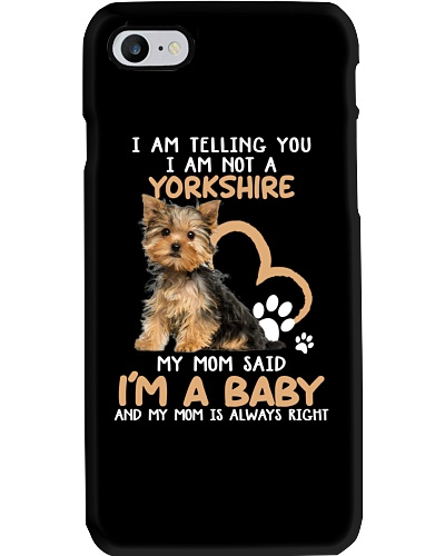 I AM TELLING YOU I AM NOT A YORKSHIRE