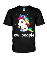 NEW EW PEOPLE V-Neck T-Shirt thumbnail