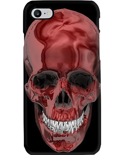 RED SKULL PHONECASE