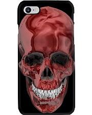 RED SKULL PHONECASE Phone Case i-phone-8-case