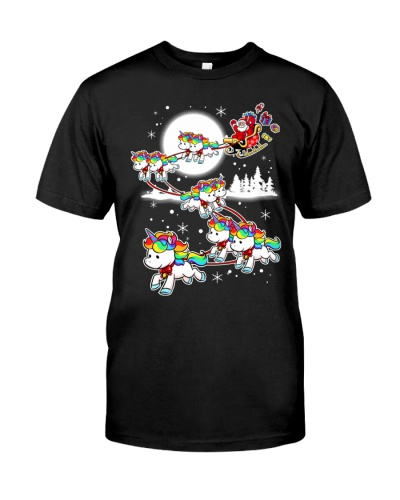 SHIRT FOR UNICORN LOVERS - MERRY XMAS