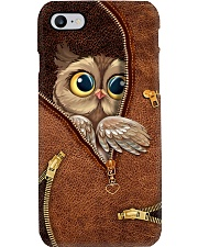 HIDDEN OWL Phone Case i-phone-8-case