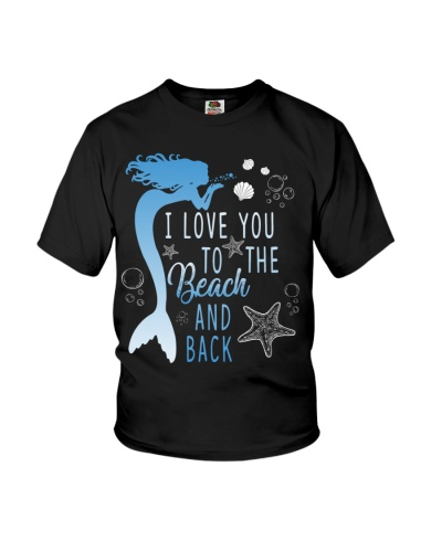 I LOVE YOU TO THE MOON AND BACK MERMAID