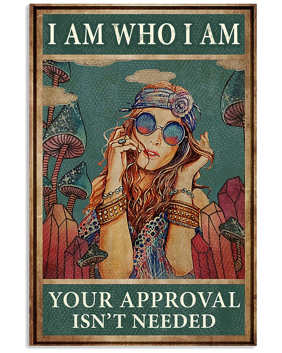 I AM WHO I AM 24x36 Poster