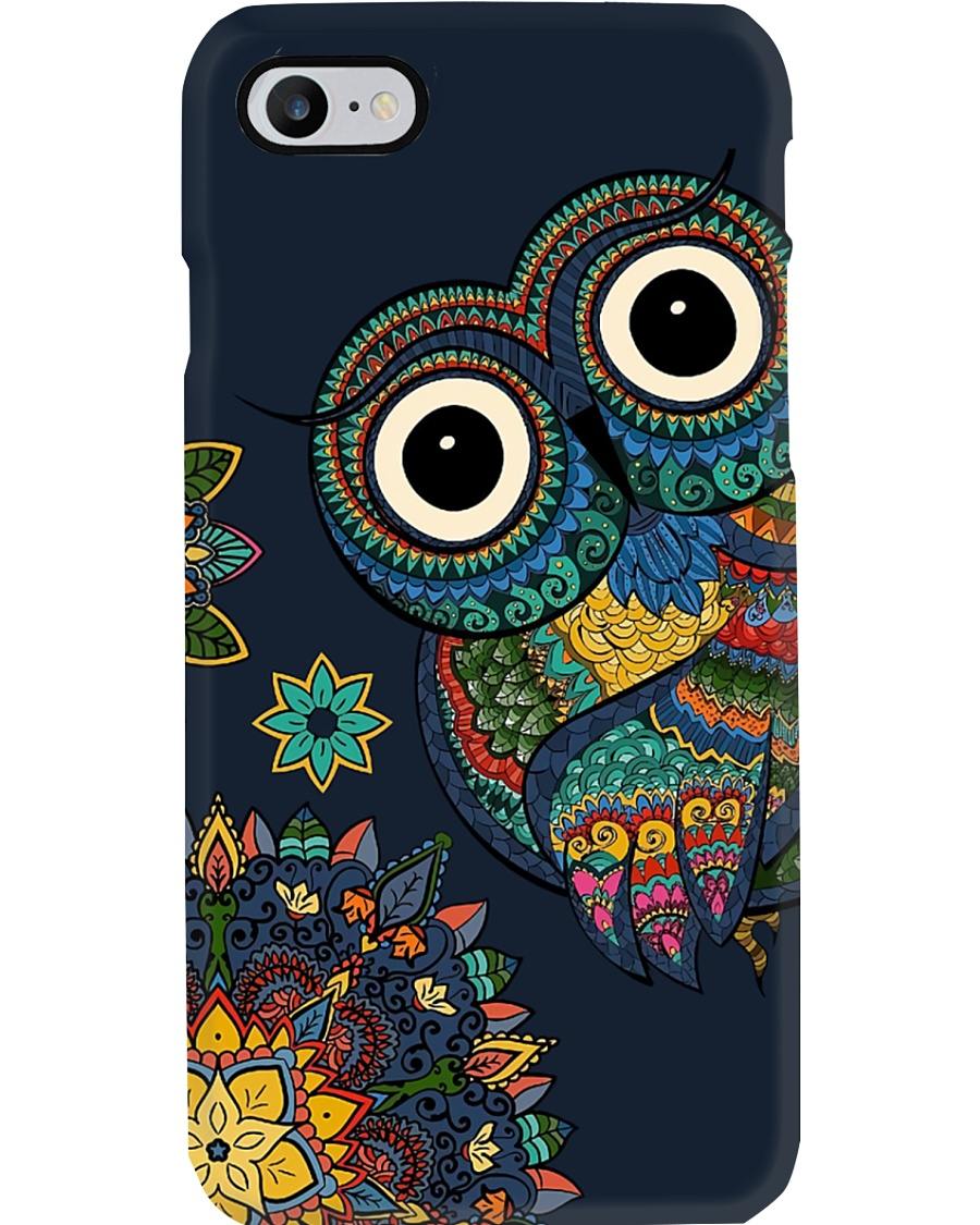 COLORFUL OWL PHONECASE Phone Case