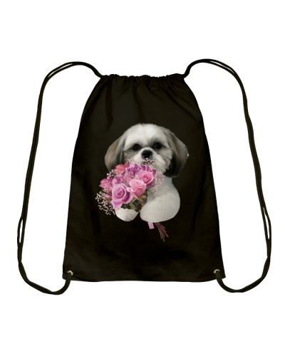 SHIHTZU AND FLOWERS