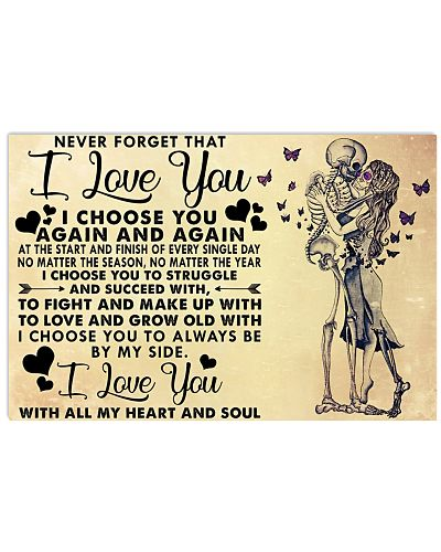 NEVER FORGET THAT I LOVE YOU