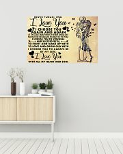 NEVER FORGET THAT I LOVE YOU 36x24 Poster poster-landscape-36x24-lifestyle-01