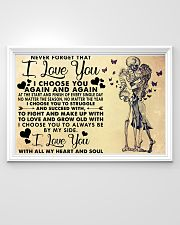 NEVER FORGET THAT I LOVE YOU 36x24 Poster poster-landscape-36x24-lifestyle-02
