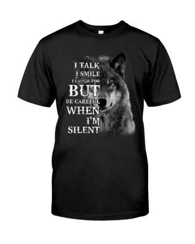 I TALK I SMILE WOLF