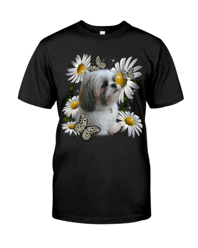 SHIHTZU AND FLOWER