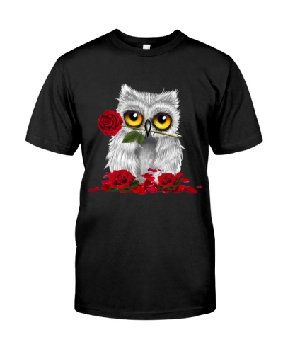 OWL AND ROSE