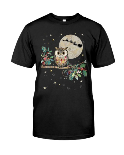 OWL AND XMAS MOON