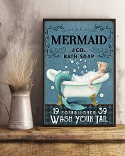WASH YOUR TAIL 24x36 Poster lifestyle-poster-3