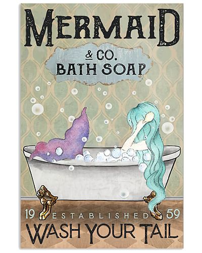 MERMAID CO BATH SOAP POSTER