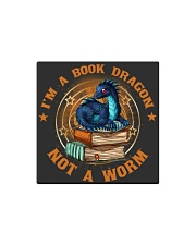 I'M A BOOK DRAGON Square Magnet thumbnail