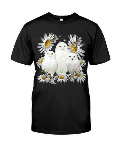 OWLS AND FLOWER