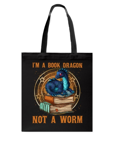 I'M A BOOK DRAGON NOT A WORM