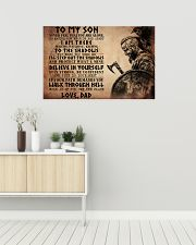 NEVER FEEL THAT YOU ARE ALONE 36x24 Poster poster-landscape-36x24-lifestyle-01