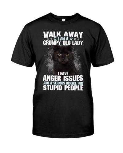 WALK AWAY I AM A GRUMPY OLD LADY