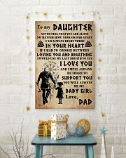 TO MY DAUGHTER I LOVE YOU 24x36 Poster lifestyle-holiday-poster-3