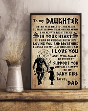 TO MY DAUGHTER I LOVE YOU 24x36 Poster lifestyle-poster-3