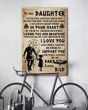 TO MY DAUGHTER I LOVE YOU 24x36 Poster lifestyle-poster-7