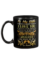 To My Wife never forget that Mug Mug back