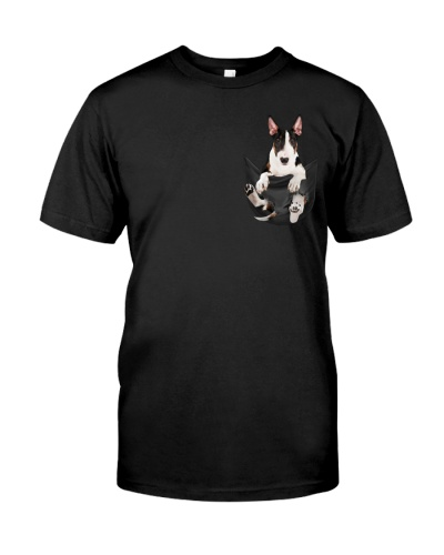Bull Terrier In Pocket