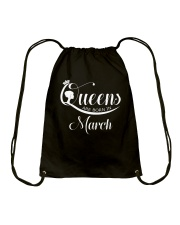 March March Drawstring Bag thumbnail