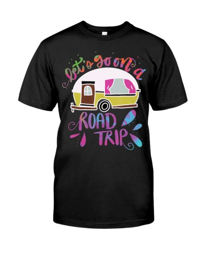 Camping T-Shirt Van Life Gifts For Caravan Campers
