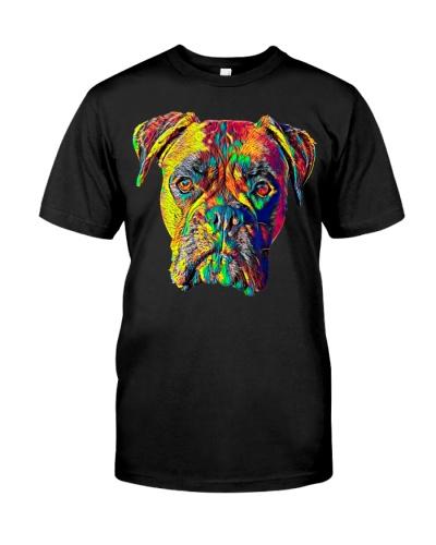 Cute Dog Boxer Breed T-Shirt