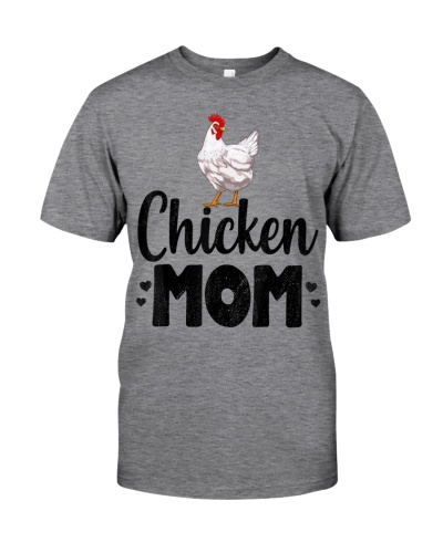 Chicken Mom Funny Country Farm Animal Gift T-Shirt