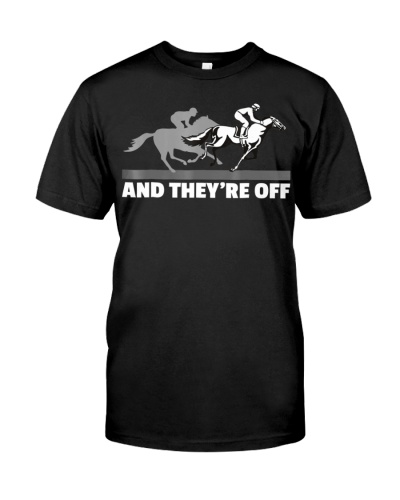 Horse Racing Shirts - And They're Off Horse Racing