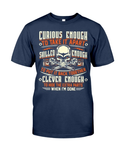 Curious Enough To Take It Apart T-Shirt - Mechanic