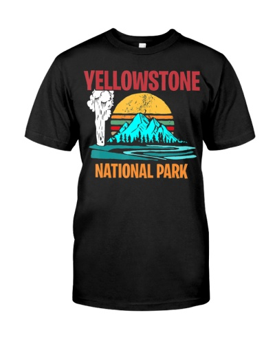 Yellowstone National Park Camping Trip T-Shirt